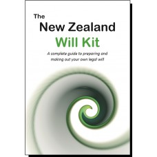 New Zealand Will Kit - for one person
